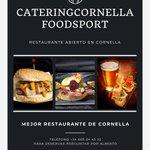 Image for the Tweet beginning: Restaurante Catering Cornella Food Sports