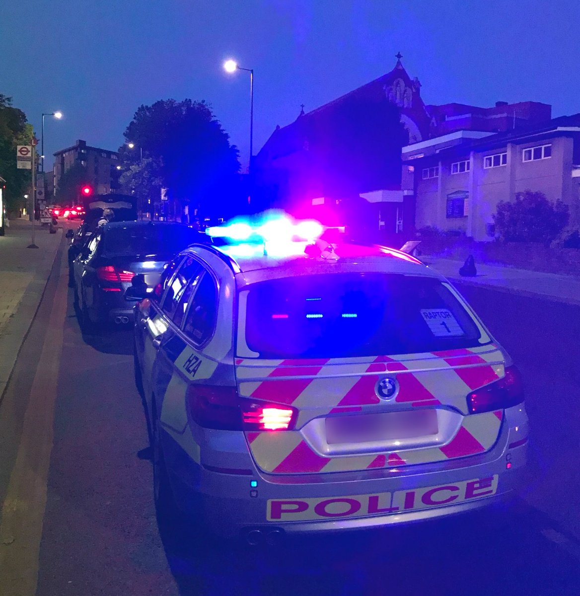 This BMW caught the eye of the #RoadCrimeTeam travelling from #Wembley into #Harlesden - stopped, all 3 occupants arrested: possession of drugs & psychoactive substances with intent to supply, driver was drug driving + fake driving licence found concealed in the car. #OpSpartan