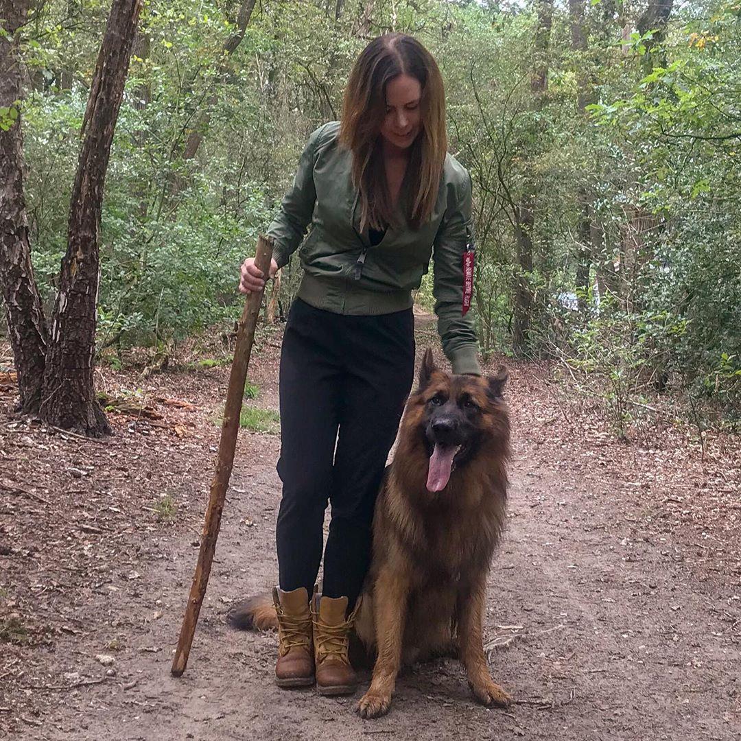 The thing I love to do most?? Take my hooman on a walk, so she can carry my stick   #gsd #germanshepherd #gsdofinstagram #dogsofinstagram #dog #puppyeyespic.twitter.com/Rb7egoOAbS