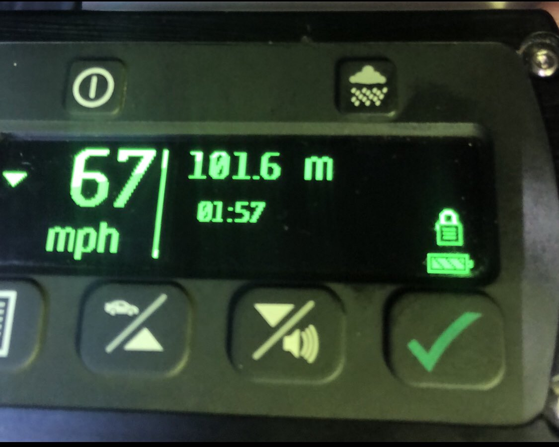 #westRPT officers were on @MPSHammFul #hammersmithflyover a #30mph road when this person was doing 67. #reported #fatal4 #visionzero @SuptAndyCox