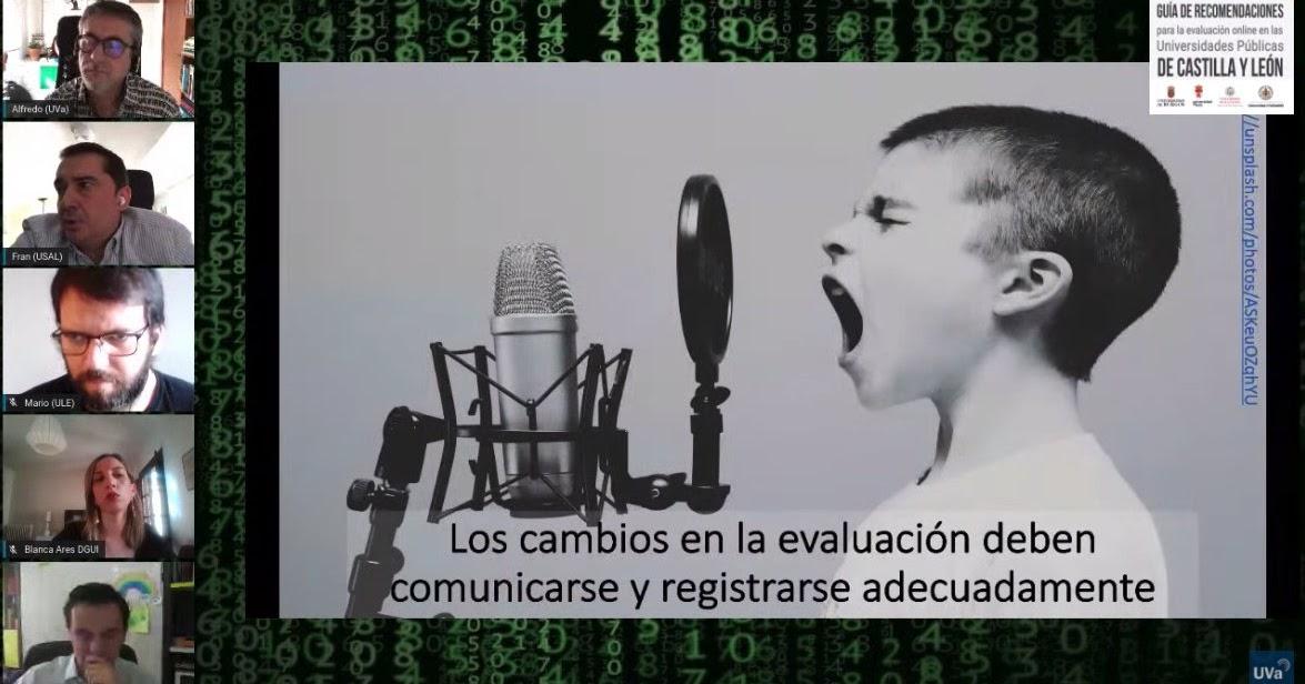 Guía de recomendaciones para la evaluación online en las Universidades Públicas de Castilla y León en época de COVID-19 (II) Video Conferencia https://e-learning-teleformacion.blogspot.com/2020/04/guia-de-recomendaciones-para-la.html… #elearning #mlearning #evaluación #LMS #campusVirtual #onlinelearning #Universidad #HigherED #HigherEducation pic.twitter.com/ia8B43xp6A