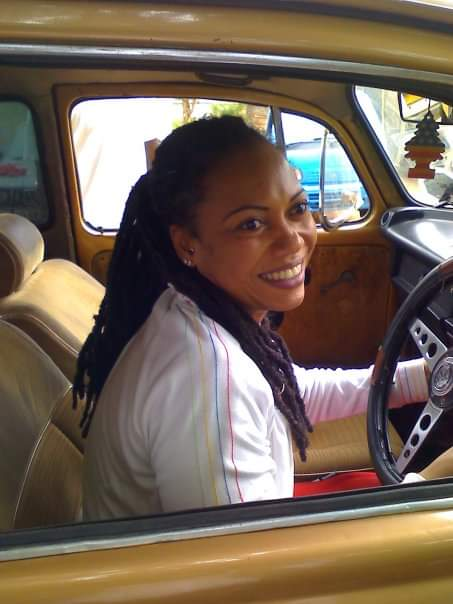 First car actress Pascaline Edwards bought with her own money was a Beetle Car
