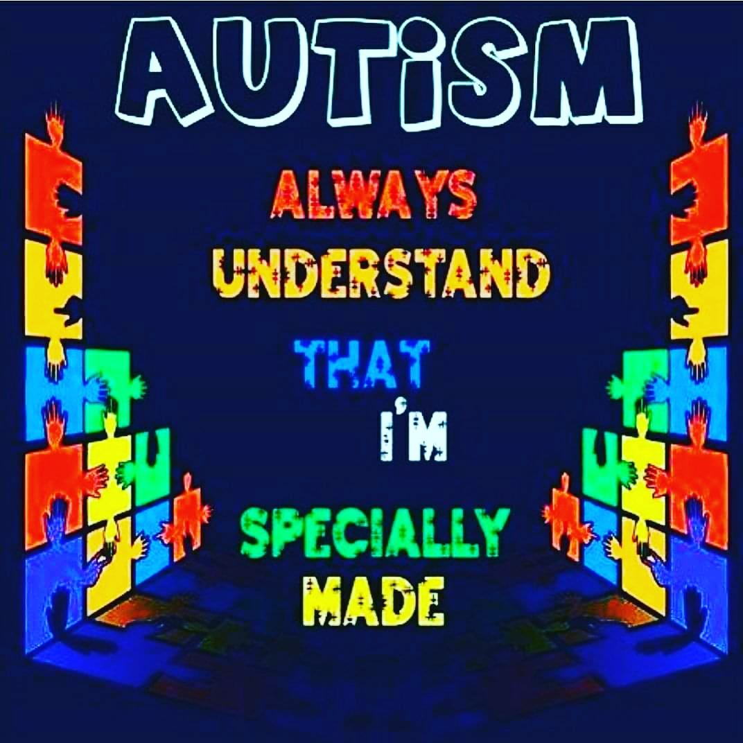 Together let's #educate the w🌍rld on the #Awareness & #Acceptance of #autism 🙌🏽💙 Every day is autism awareness day in our house 🏡 #autism #autismdad #autismawareness  #autismawarenessmonth #autismfamily #autismparent #autismrocks #lightitupblue #differentnotless https://t.co/H38jF5chmp