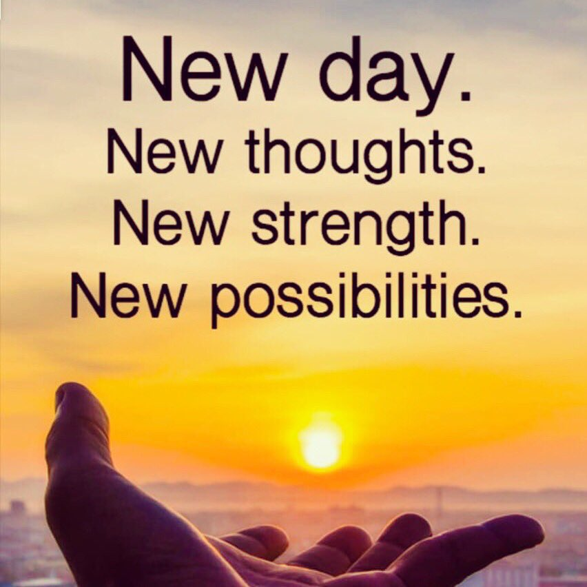 Embrace this new day with #positive thoughts because you create your own reality. Remember that whatever you put out into the #universe it will come back to you.   You already have the strength and courage to seize this moment to manifest your #dreams.  #ThinkBIGSundayWithMarsha https://t.co/oHqFfnL6cp