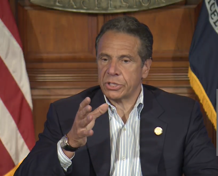 The goal is affecting change, Cuomo says -- not violence