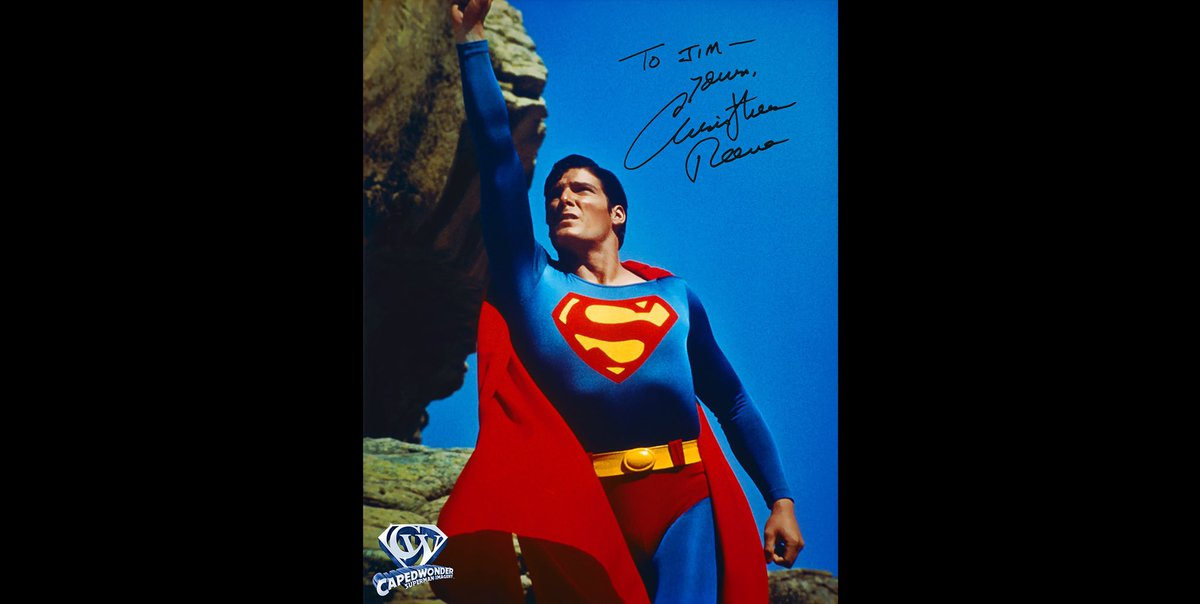 This photo was shot by celebrity photographer Curt Gunther 42 years ago today - May 31, 1978 - in Gallup, New Mexico. Christopher Reeve autographed a print of it for me IN PERSON on May 14, 1994. #superman #supermanthemovie1978 #supermanthemovie #christopherreeve #richarddonner https://t.co/joYhEoMNms