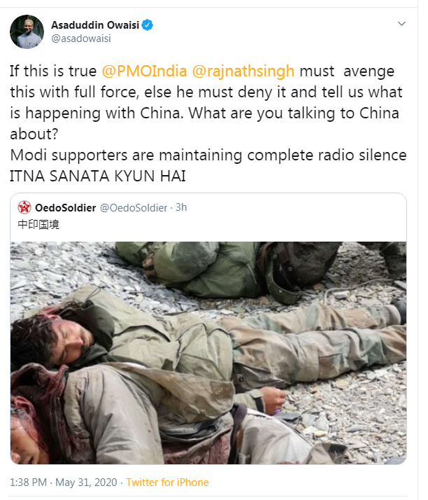 #himalayas is the grey matter of #Bharat, an inch of intrusion into it brings hundred years Brain damage, Present #ModiGovernment2 knows it well..I request all the Sons of Maa Bharati be firm, be strong and be resilient like Phoenix. #Chinaindia https://t.co/xFqNgwFdrk