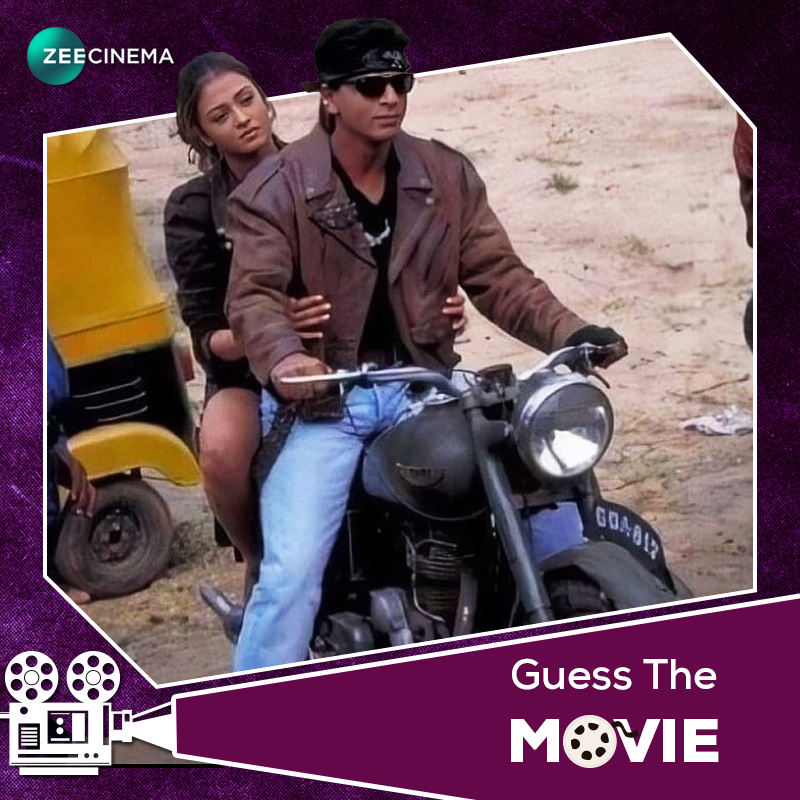 RT SRKAlgeria_CFC: RT ZeeCinemaME: Guess the name of this movie!  #ZeeCinemaME iamsrk #AishwaryaRaiBachchan pic.twitter.com/Ts7KQQlBbb