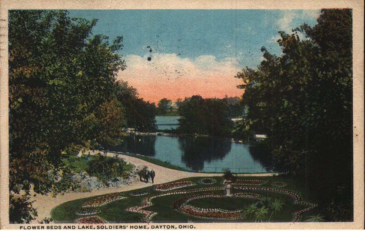 Now for sale in my #etsy shop: Vintage Pre-Linen Postcard Flower Beds and Lake Soldiers' Home Dayton Ohio 1910s https://t.co/8qoc19n0HB #postcard #vintage #ohio #dayton #soldiershome #flowers #lake #postcardpassionshop https://t.co/Ddzhl9Fwr0