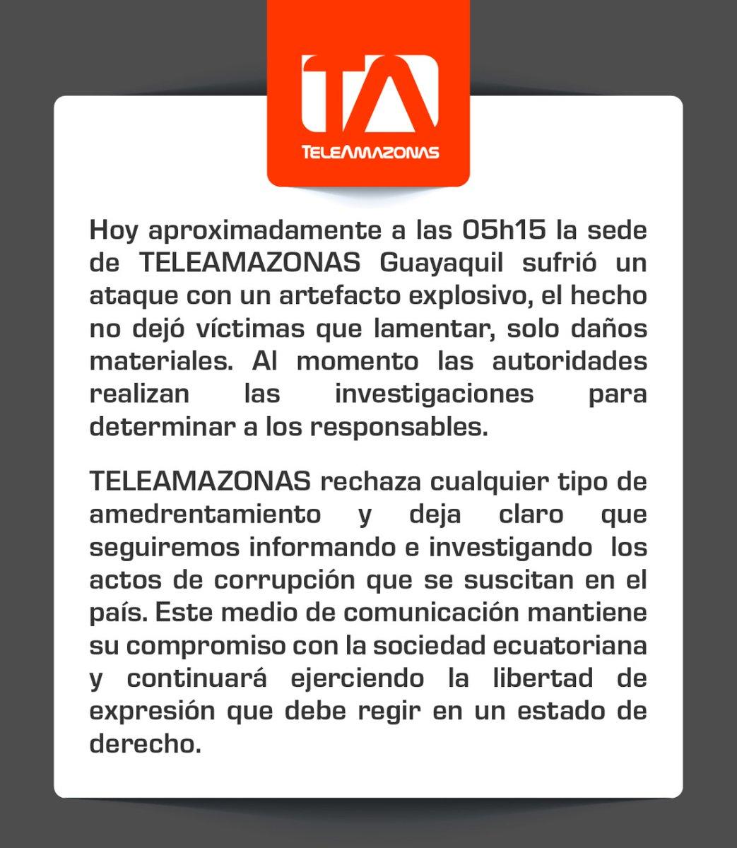 Mantenemos nuestro compromiso de informar al Ecuadorpic.twitter.com/OqwKyzY8h1