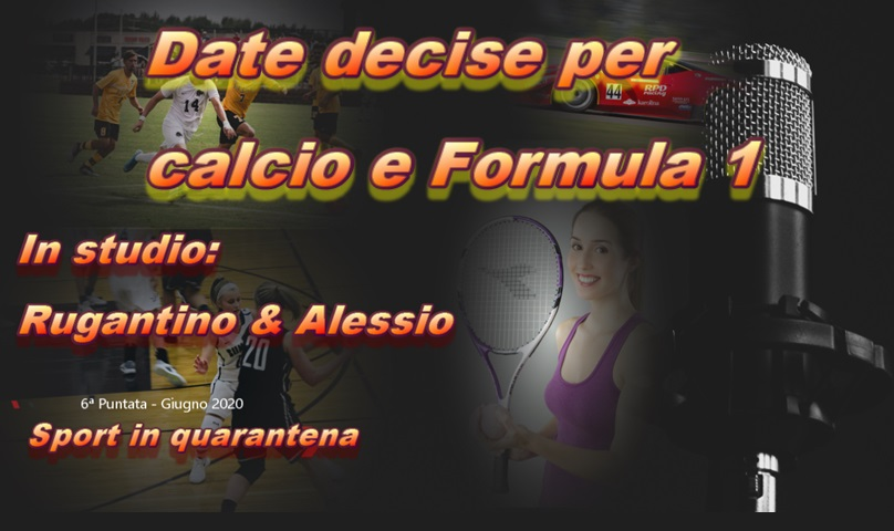 Sport in quarantena 6ª Puntata - Date decise per #calcio e #Formula1 https://t.co/7Q1Bg7cUSO  #podcast #radio #sport #atleti #youtube #youtubers #podcastlovers  #coronavirus #covid19 #seriea #bundesliga #f1 #ferrari #mercedes #redbull #formula1drivers #laliga #premiereleague https://t.co/5MAh7rkWv7