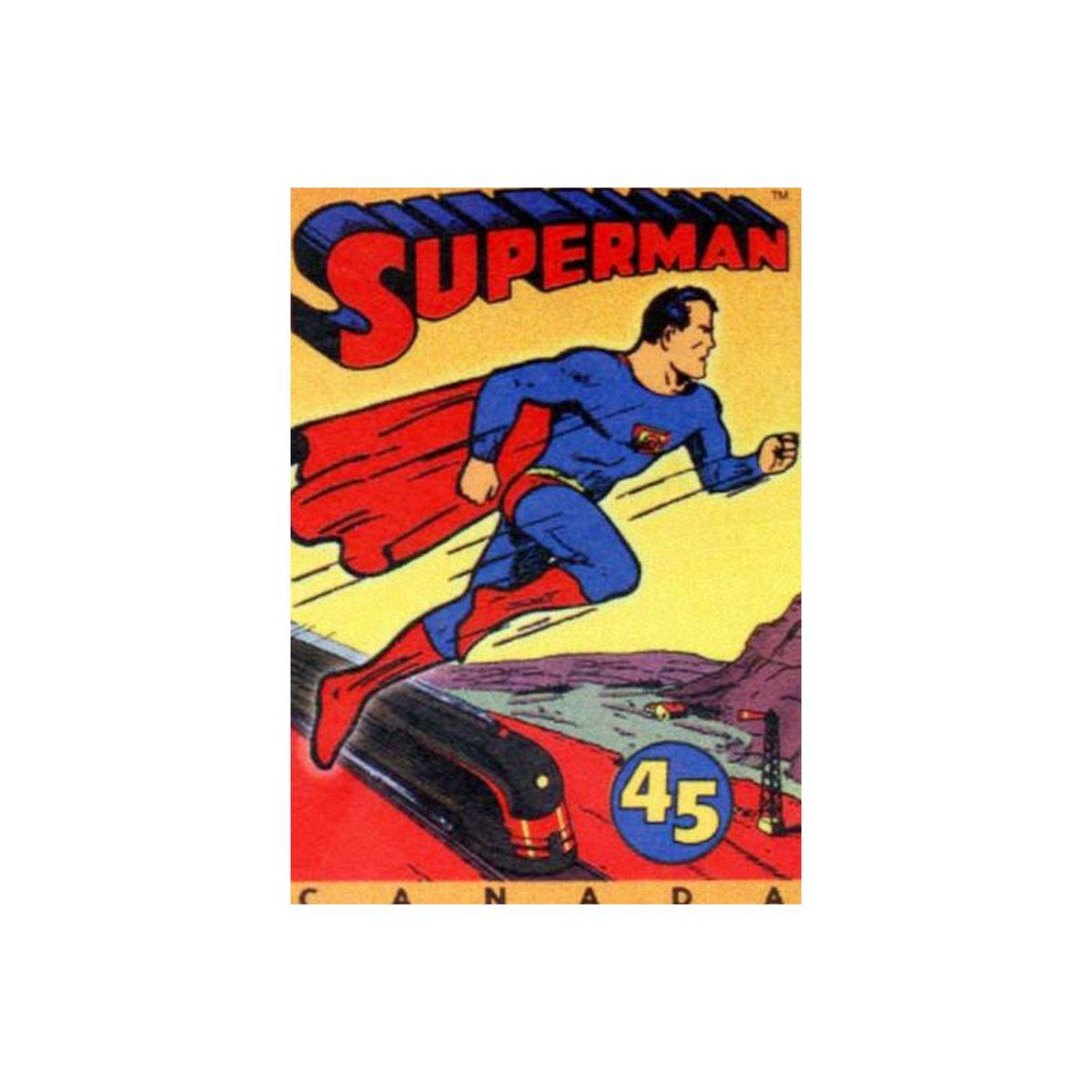 En 1938 el personaje de Superman no volaba, pero en cambio saltaba muy alto. Fue en 1941 cuando pudo volar y lo hicieron aún más fuerte y poderoso. #Superman #MiniToyOaxaca https://t.co/Y6bnIwvjxo