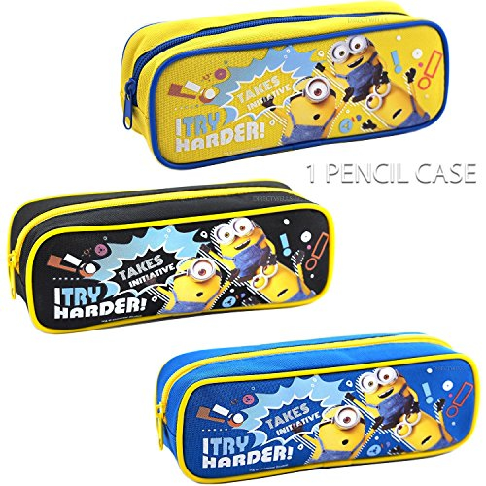 """60% discount!  24 HOURS ONLY! Despicable Me Minions """"I Try Harder """" Pencil Case (1 Pencil Case) #giftsforhim #giftgiving #gifttags #gadgets #gadgetfreak #gadgetlover #actioncityonline #onlinestore #onlinestores pic.twitter.com/gEnWO3TJIL"""