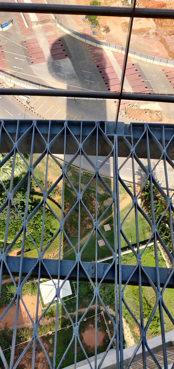 BLR control tower catwalk. #BLR https://t.co/JJpojpmilO