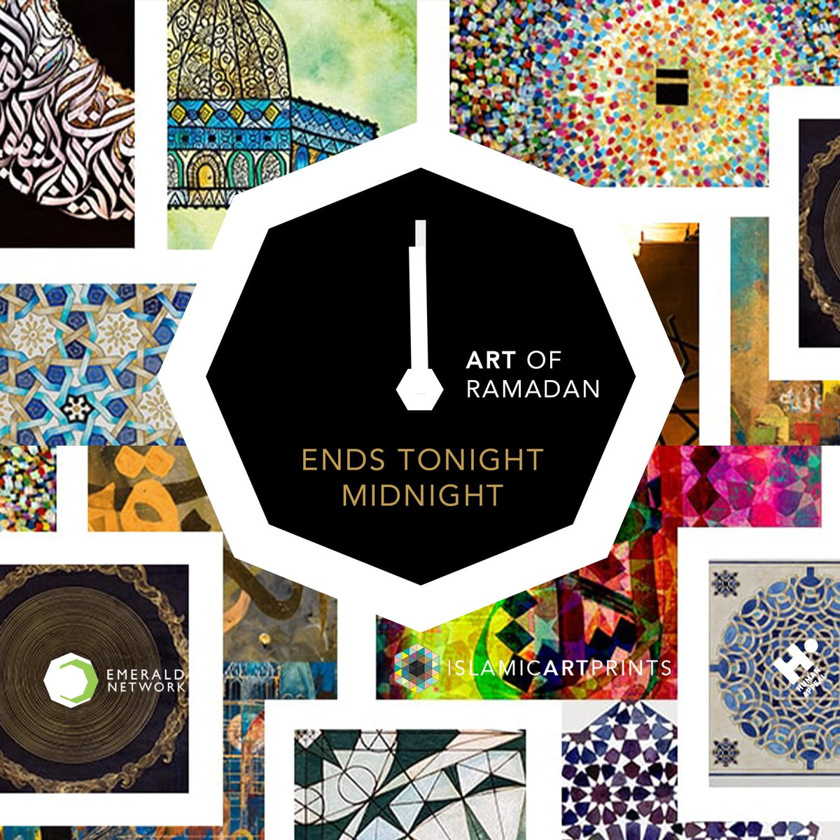 Ending tonight midnight! #ArtofRamadan campaign - thank you to all who have supported-  Visit https://t.co/pbEEPOFB0W ********************************* Offer ends 31.5.20 tonight midnight // #islamicartprint #contemporaryart #geometricart #calligraphy #charity #creatives https://t.co/0DPkxv4mh0