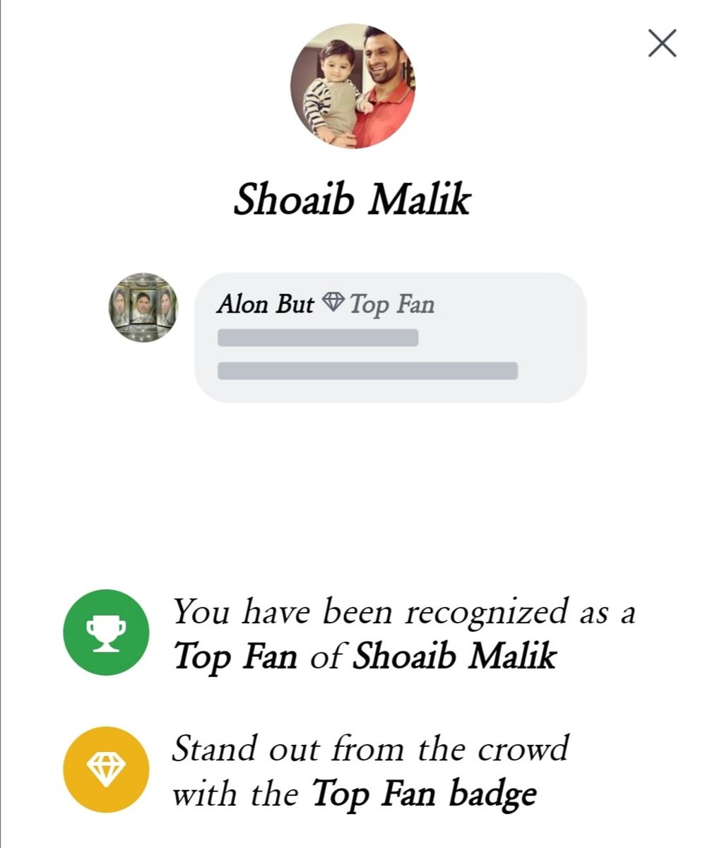 Me Hasnain Ashraf from Pakistan working in Jeddah Saudi Arabia feeling Happy and Honoured for being recognised as a top fan of Shoaib Malik, before I was recognised top fan of Sania Mirza few weeks ago. Shoaib and Sania are my all time favorites. I pray for their future career.