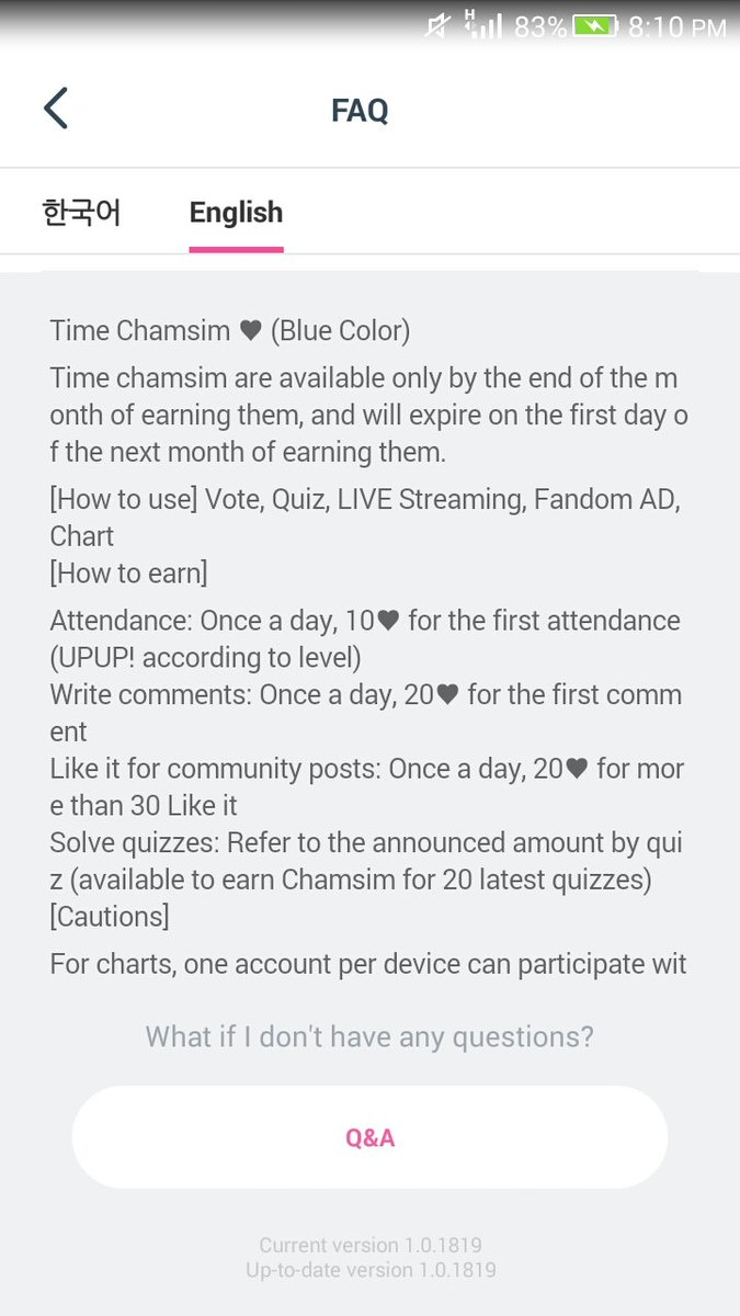 @candycrush0506 hello! please announce to NOT collect blue hearts today!! blue hearts will expire every 1st day of the month, which is tomorrow!! ONLY COLLECT HEARTS THAT YOU WILL USE TODAY! save hearts for future voting tomorrow instead~ (red hearts are okay!! no expiration!)