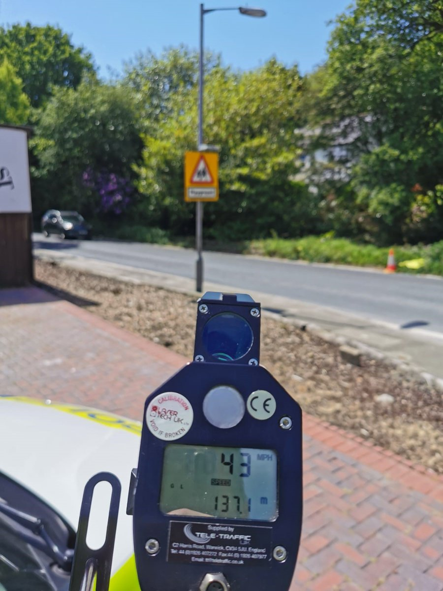 Officers on #ASection and #CSection have been carrying out proactive speed checks in #Roche #StStephens #Trethowel #Stenalees and #StAustell, following complaints from members of the public.   #Fatal5 #SaferRoads #StAustell #Response #Policing https://t.co/gqVyyslspu