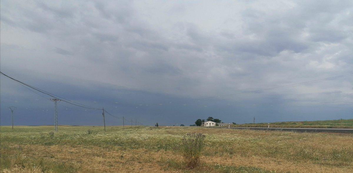 En villalon de campos se avecinaba tormenta