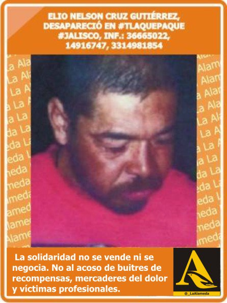 #Tebuscamos Elio Nelson Cruz Gtz #Tlaquepaque #Jalisco #911 https://t.co/OlzgLoYiKX