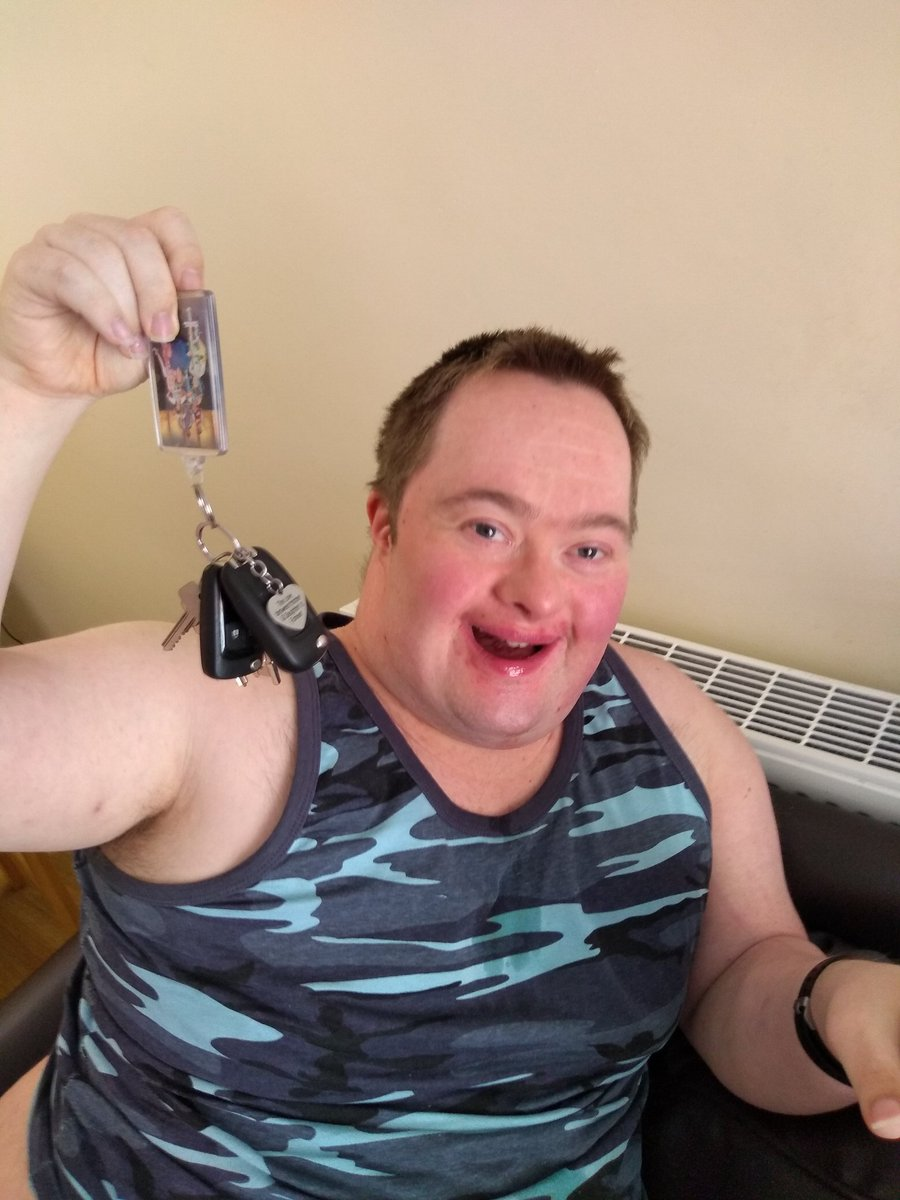 Yep I let the keys out of my sight .... And he dies not miss a chance for mischief.  #DownSyndrome #AUTISM https://t.co/mMtU8dbQQW