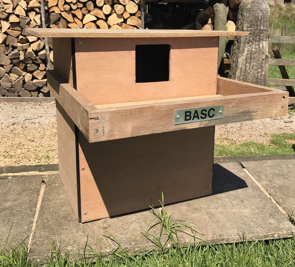 """So whilst """"Wild-Daz"""" or whatever they call themselves are trying to hamper vital conservation work, we've branched out now into Owl boxes @BASCNorth Again, tangible efforts on Shoots helping the full range of species @CountrymansW @ShootingTimes #bascbirdbox"""