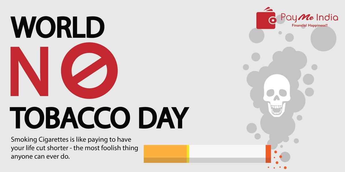 On #WorldNoTobaccoDay Say No to #Tobacco, Let's all come together & make a #resolution to create a Tobacco free #society. #WorldNoTobaccoDay2020 #Healthpic.twitter.com/s5wMjieAz7