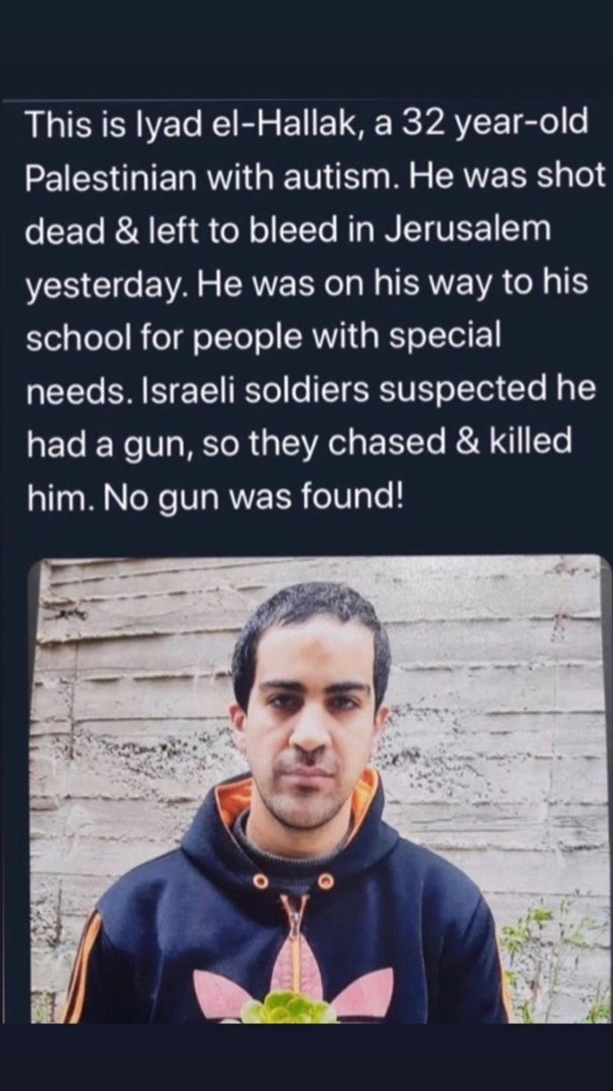 YALL NEED TO SPREAD THIS‼️‼️‼️ #Justiceforiyad  #AllLivesMatters  #Violence  #Autism https://t.co/0CTZtUyjWF