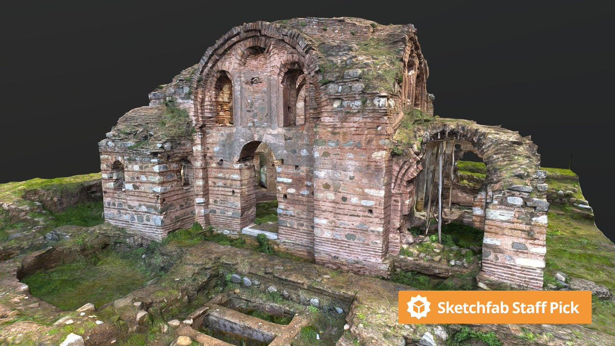 New staff pick: Hagios Aberkios (Theotokos) Monastery Church 9th by @sertunsuzzz. Check it out in #3D, #AR or #VR: bit.ly/2yIQcpu