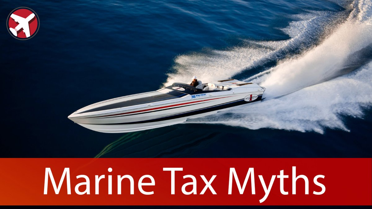 Do you know how to LEGALLY avoid sales tax on a boat purchase...Give us a call and find out how.   https://t.co/doXduM4y4x   #aviation #airplane #planes #jets #aircraft #pilot #helicopters #boats #vessels #sailing #yachts #businessaviation #bizav https://t.co/7tMAXiy3Vg