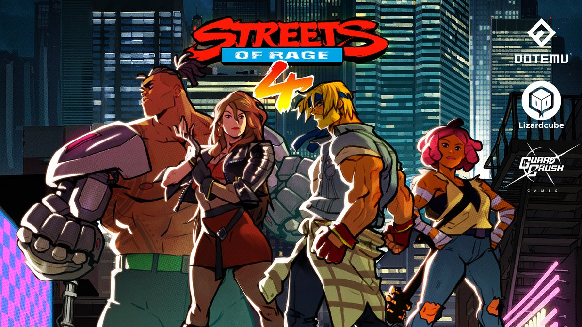 Streets of Rage 4 is the return to the series that we've always dreamed of. Our thanks go out to our friends at @Dotemu, @Lizardcube, and @Guard_Crush for making it a reality!  #SEGAForever