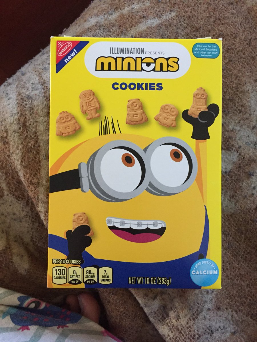 Found some #Minions cookies 🍪 yesterday