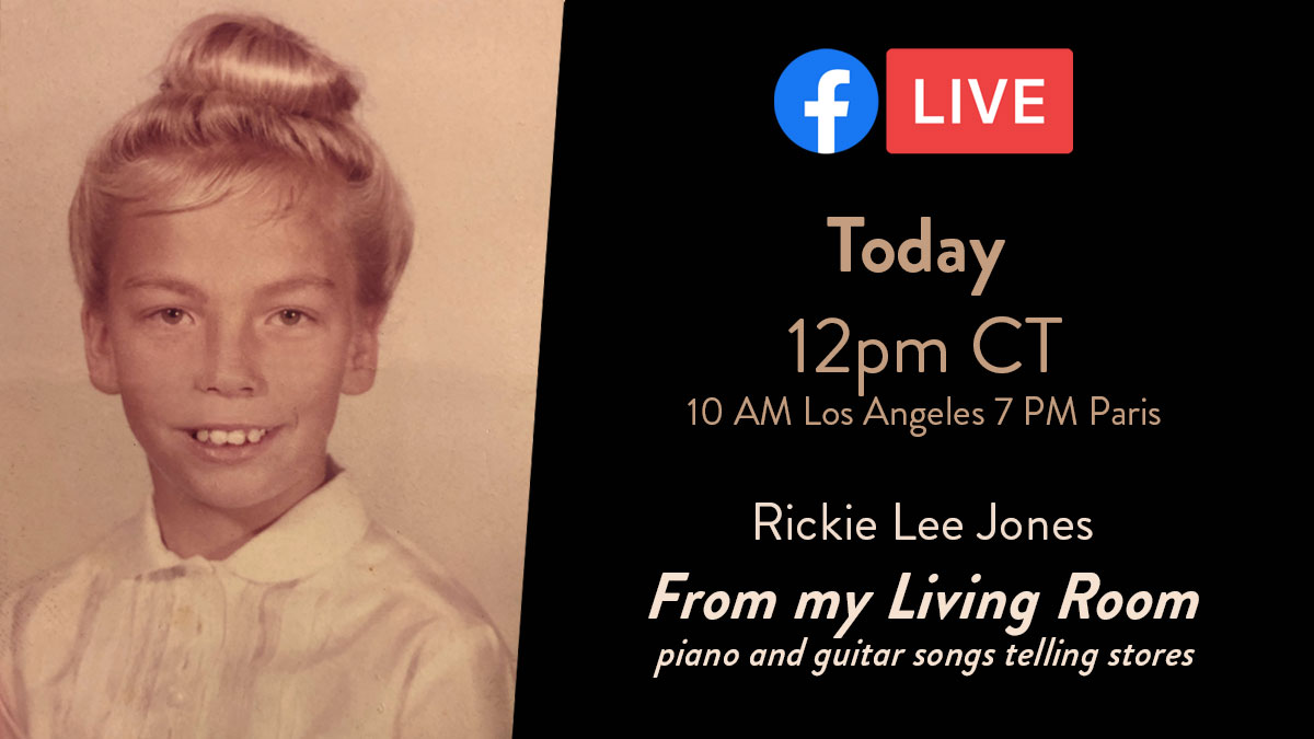Streaming Live from my Living Room 🎹 🎸 🎶 🏠 Today, 12pm CT 10:00 AM Los Angeles - 7:00 PM Paris https://t.co/7MMFcal7H7