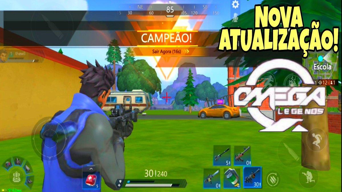 SAIU UMA NOVA ATUALIZAÇÃO DO ÓTIMO GAME OMEGA LEGENDS. CONFIRA MAIS UMA GAMEPLAY EM BUSCA DE MAIS UMA VITÓRIA ➡️ https://t.co/HDjOAfsjqX  #games #android #ios #omegalegends  #fortniteandroid #fortnitemobile   #gamesandroid #gamesmobile  #omegalegends008  #omegalegendsatualização https://t.co/hz9vQmLdvy