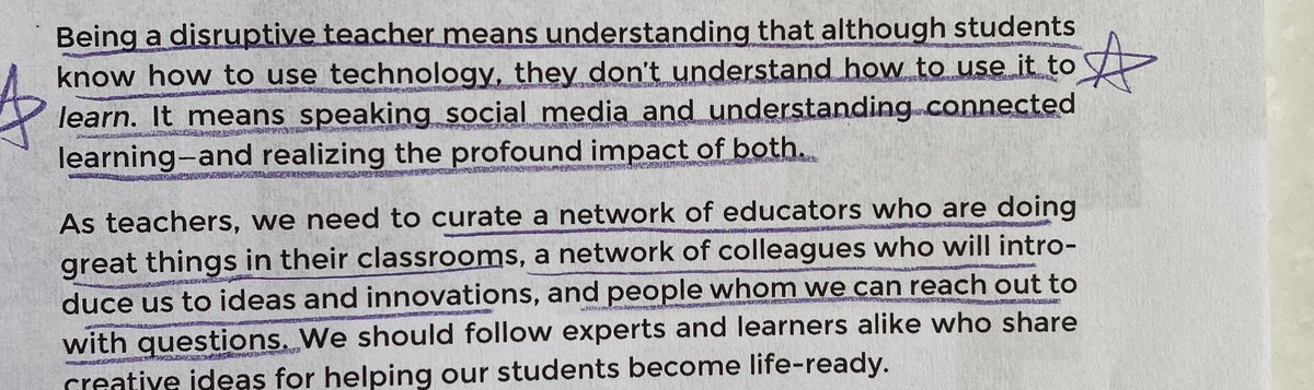 """""""Students know how to use technology, they don't understand how to use it to learn."""" Google Infused Classroom @TanyaAvrith @HollyClarkEdu #edchat #wcpsmd"""