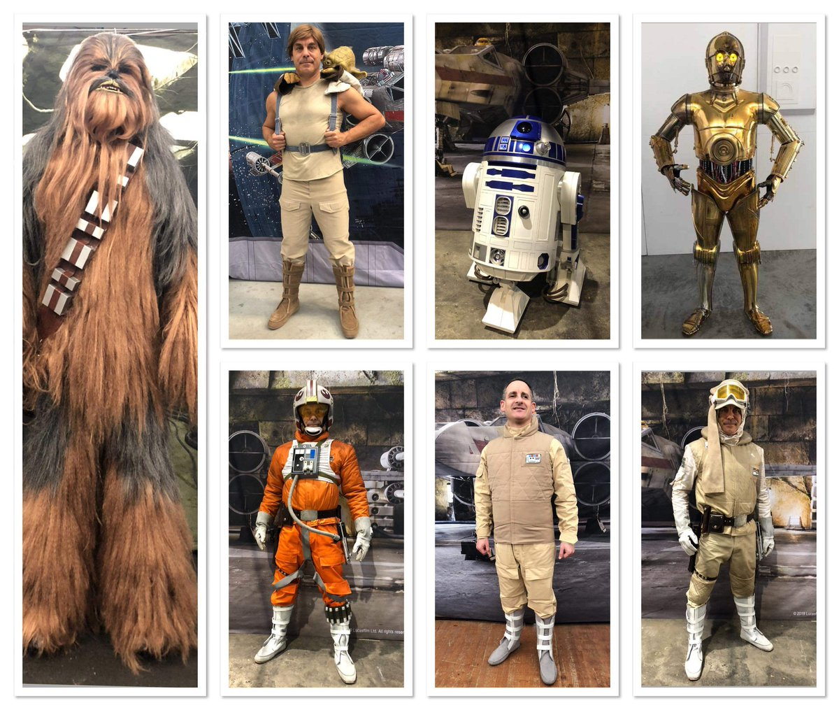 🇬🇧 This year we are celebrating 40 years of The Empire Strikes Back! If you were to make a costume for this episode, which one would you choose? 😉  #starwars #rebellegionfrenchbase #rebellegion #lempirecontreattaque #empirestrikesback https://t.co/yZkF1IG4gG