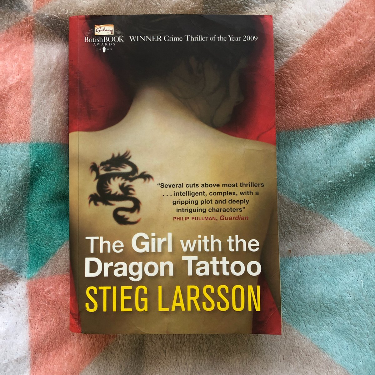 """""""Never engage in a fight you're sure to lose.""""  #TheGirlWithTheDragonTattoo by #StiegLarsson : 💫💫💫💫  The Girl with the Dragon Tattoo deserves a lot of the hype it gets. Now go out and read it if you haven't already! That's all. https://t.co/Uslbn6MElg"""