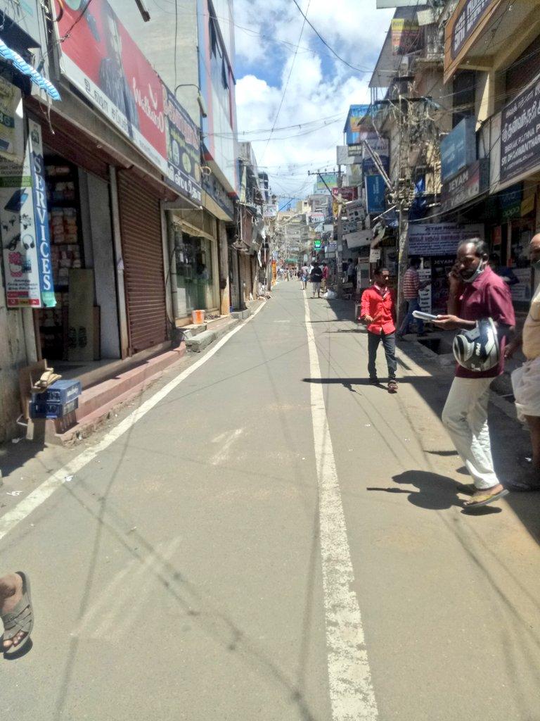 Alexander Press Road !  #nagercoil   #lockdown2020 pic.twitter.com/mUm2K7EKUJ