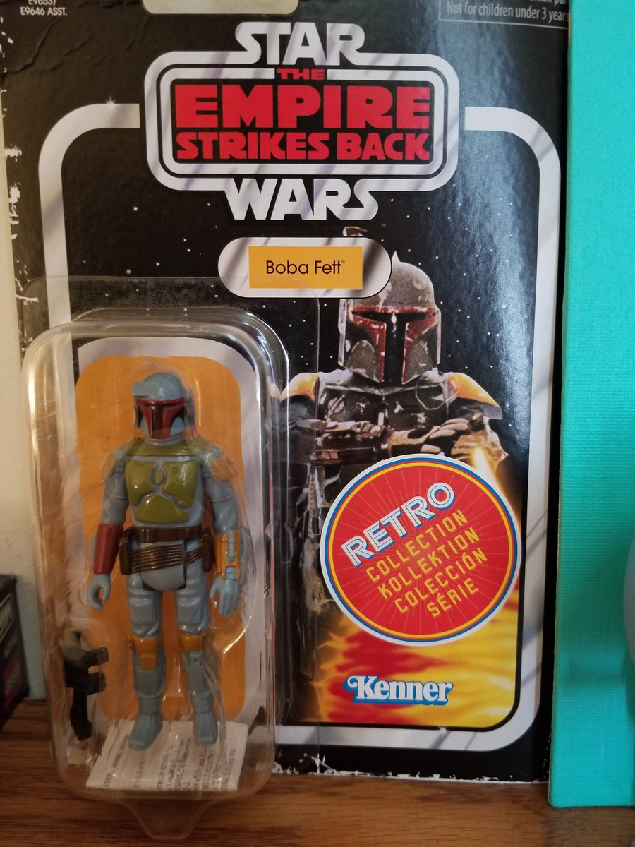 Sometimes you have to treat yourself...#treatyoself #bobafett #kenner #starwars https://t.co/2X1HSe3zgc