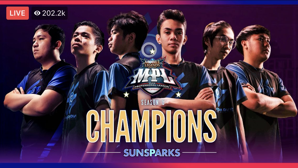 greed is good, wp sunsparks! congrats! back-to-back! 🖤💙
