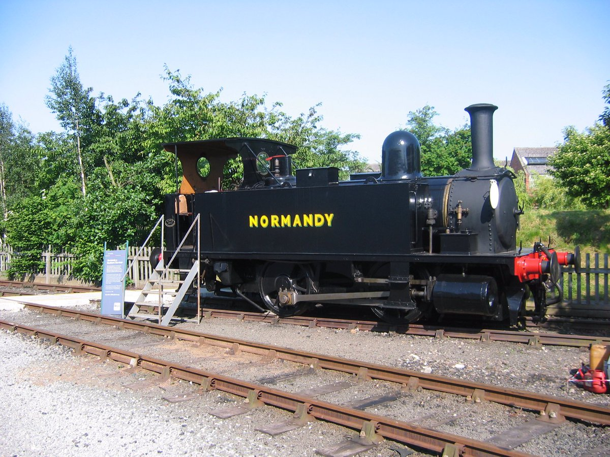 ON THIS DAY: In 2008, this photo of Normandy was taken at the National Railway Museum York open weekend. Photo supplied by Tony Hillman.