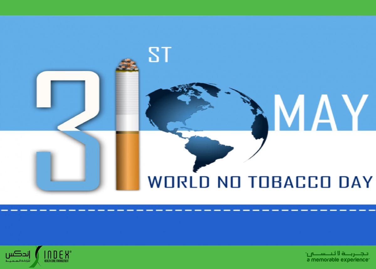 31st May, World No Tobacco Day serves to highlight the serious health risks of tobacco use. #ihcm #healthcaremanagement #healthcareconsultingfirm #worldnotobaccoday #stopsmokingnow #takecareofyourself #StaySafeStayHealthypic.twitter.com/lk1b0xqe6K