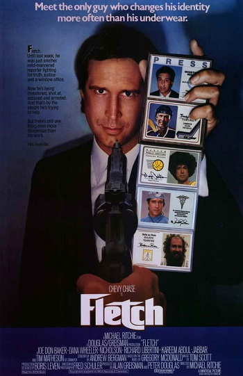 May 31, 1985: 35 years ago, the film Fletch was released in theaters. #80s pic.twitter.com/iajXIBI7c9