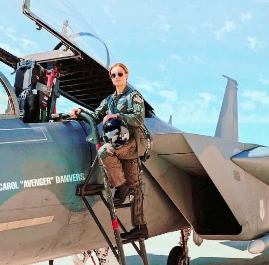 """""""I can do more. I know I can. I can be the person other people strive to be. I can be better than good. I can be the best.""""  #CaptainMarvel https://t.co/qKO1Gsptbw"""