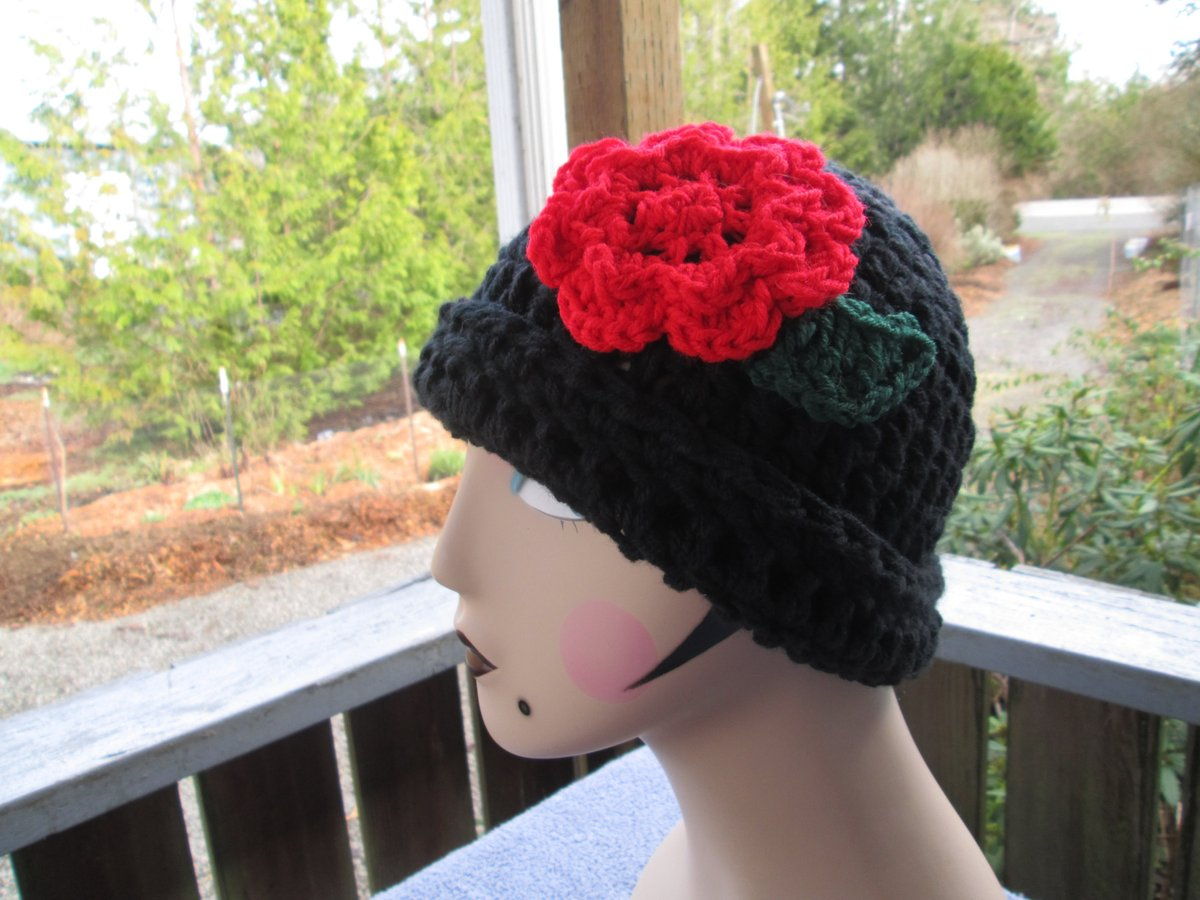 Excited to share the latest addition to my #etsy shop: Women's Formal Black Hat with Red Flower by SuzannesStitches, Teen Formal Black Hat, Woman Formal Black Hat, Teen Cloche Hat, Women Cloche https://t.co/IIwSo5Df6I #black #birthday #easter #red #womansblackcloche #t https://t.co/EOLFrPfGK3