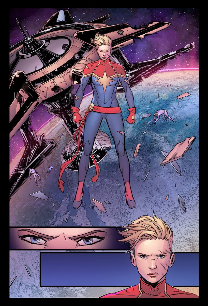 """""""..I'm not going to run away from anything...ever again."""" #CaptainMarvel https://t.co/mJaln6pD33"""