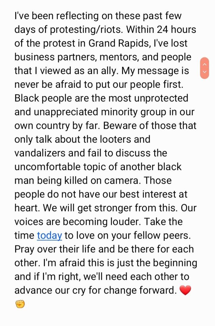 Change will come.   #BlackLivesMatter #BLACK_LIVES_MATTER #JusticeForGeorge #BlackLivesMatter https://t.co/mm5g7cx7In