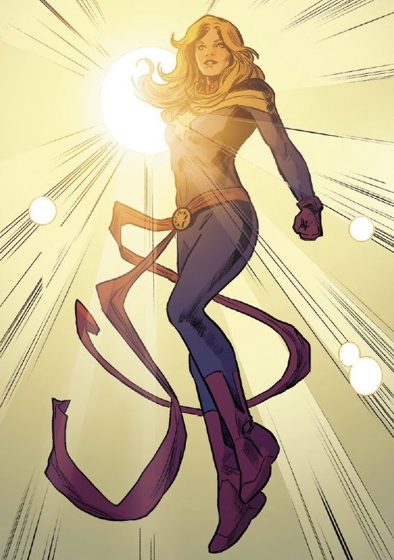 """""""We're not alone. The best of us always find a way. They put themselves between us and evil and they say 'no more'. They inspire us to do the same.. and that means everything's gonna be okay."""" #CaptainMarvel https://t.co/FIekfgeu2i"""