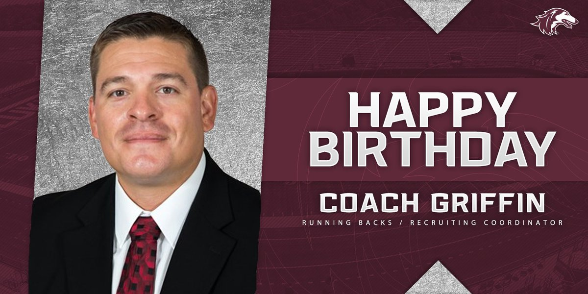 Saluki Fans help us wish @CoachNGriffin a Happy Birthday today! Coach Griff is our RB's Coach & Recruiting Coordinator. Hope you have a great day Coach! #Family #HBD   #GoDawgs https://t.co/7Ov2SBABmx