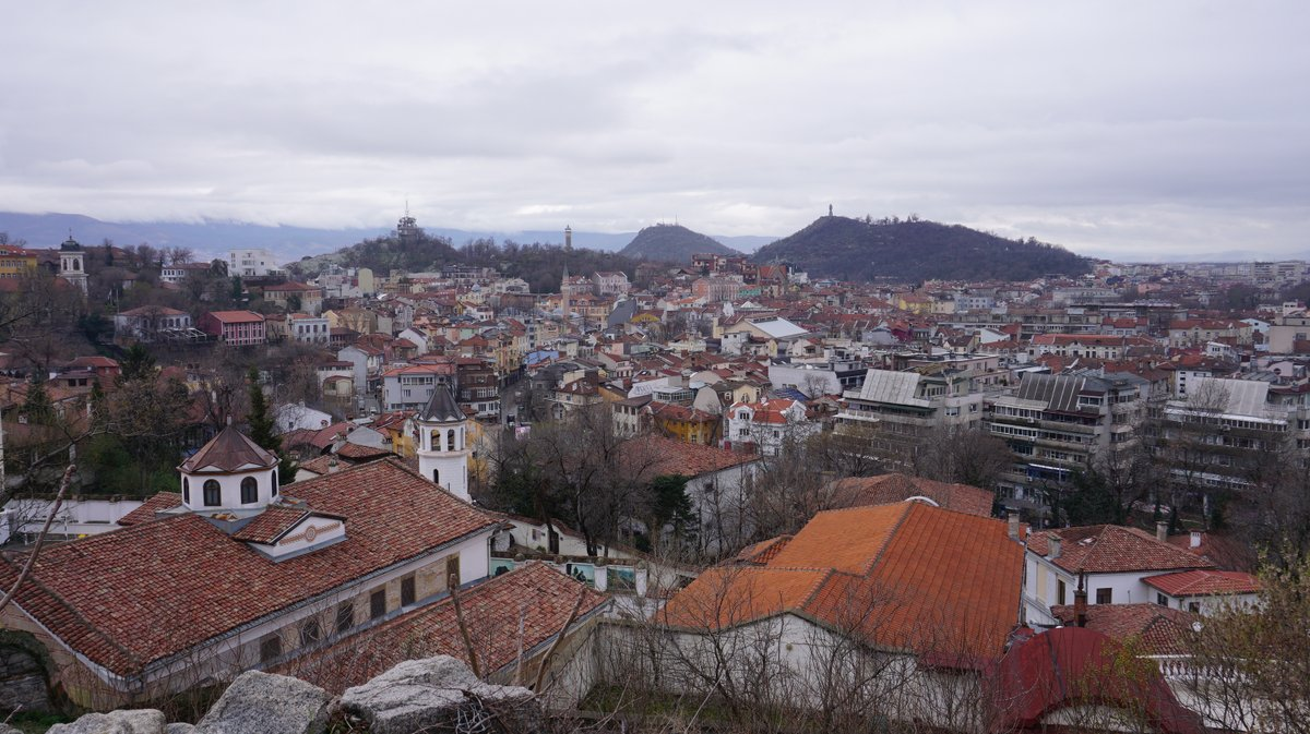 A view of the city in Plovdiv in January of 2020.   #plovdiv #българия #bulgariatourism #culturephotography #culturetrip #cultureheritage #bulgaria #citybreak #citytrip pic.twitter.com/VSP6D48zXm